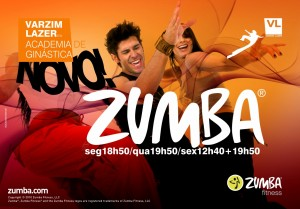 cartaz zumba