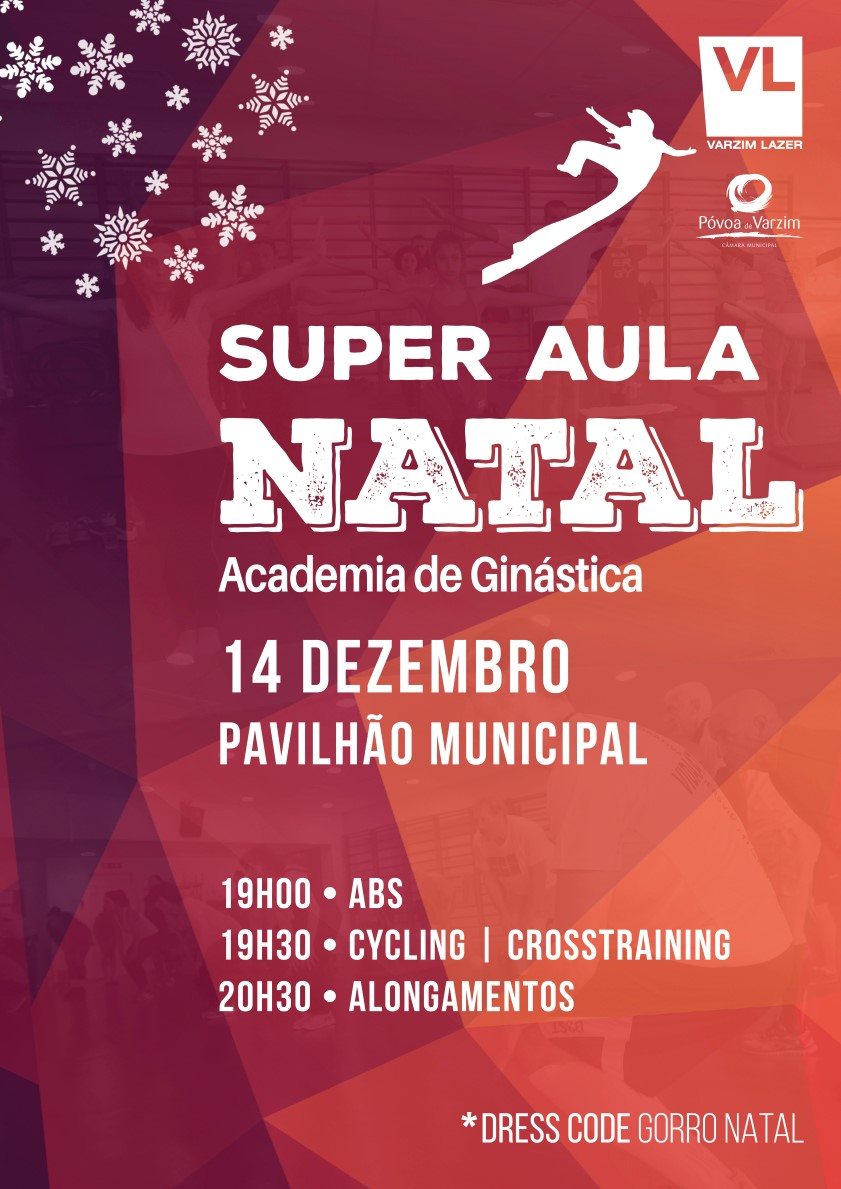 Cartaz Super Aula Natal (Custom)