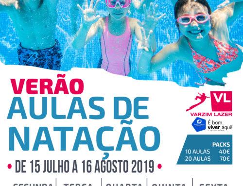 Aulas Natação Verão 2019
