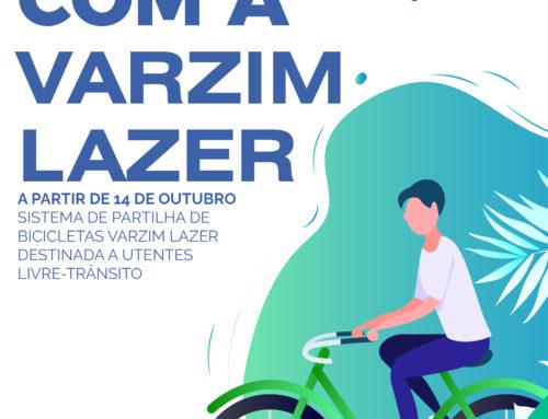 Pedale com a Varzim Lazer